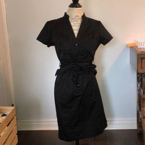H&M black buttoned dress (modern, classic)